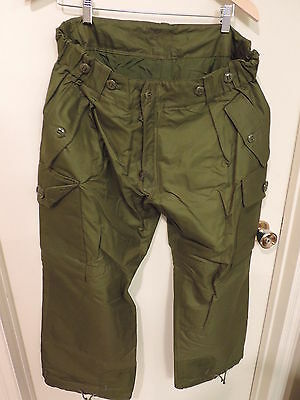 Canadian Forces Trousers Combat Pants Winter Cold Green Size 6738