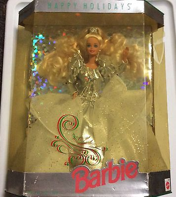 1991 Happy Holidays Special Edition In Crystal Dress Barbie MIB