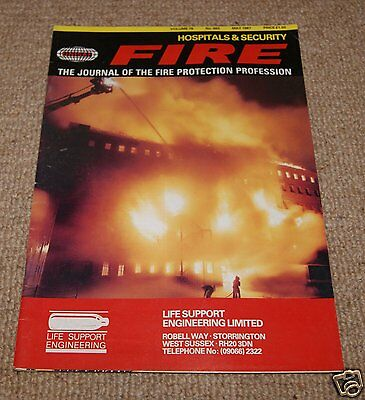 Fire Magazine - Vol 80 No 983 May 1987