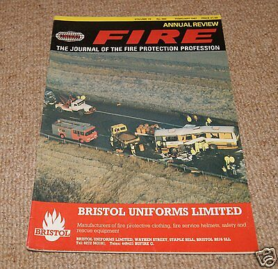Fire Magazine - Vol 79 No 980 February 1987
