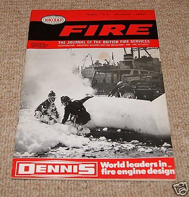 Fire Magazine - Vol 64 No 795 September 1971