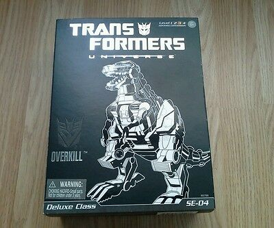 Transformers Classics Deluxe Special Edition Overkill complete with box