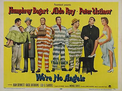 """Were No Angels 16"""" x 12"""" Reproduction Movie Poster Photograph"""