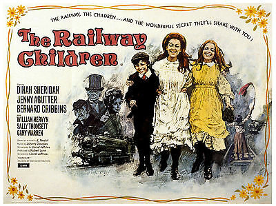 """The Railway Children 1970 16"""" x 12"""" Reproduction Movie Poster Photograph"""