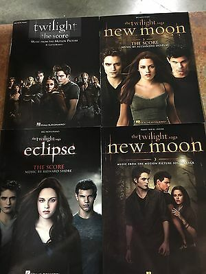 Lot of Twilight Big-Note Piano and Piano/Vocal/Guitar Sheet Music Books