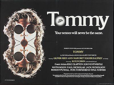 """Tommy 1975 16"""" x 12"""" Reproduction Movie Poster Photograph"""