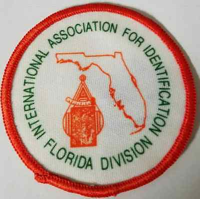 International Association For Identification Florida Division Cloth Patch