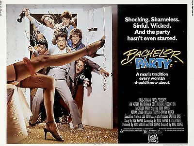 """Batchelor Party 16"""" x 12"""" Reproduction Movie Poster Photograph"""
