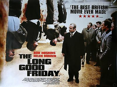 """The Long Good Friday 16"""" x 12"""" Reproduction Movie Poster Photograph"""