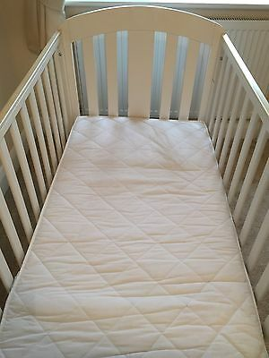 Mamas and Papas Fern Cot/Junior bed with matress & 2 quilts