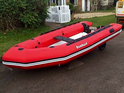 Bombard Aerotech 380 Inflatable Boat & Mariner 15hp Fourstroke Outboard Engine