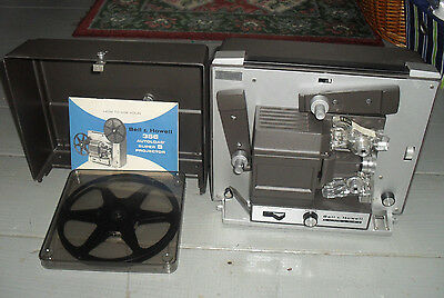 Vintage Bell & Howell 356 Super 8 Projector with Extras