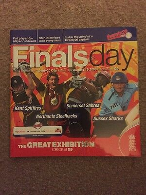 Official programme T20 Finals Day 2009