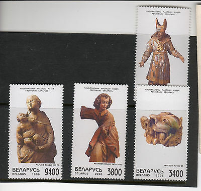 Belarus wooden sculptures 1998