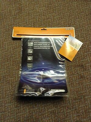 ortlieb a4 map/document Waterproof case brand new
