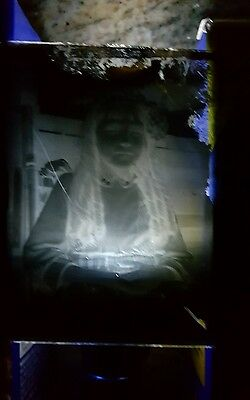 Antique Halloween Glass Plate Negatives Rare Find assorted lot 8