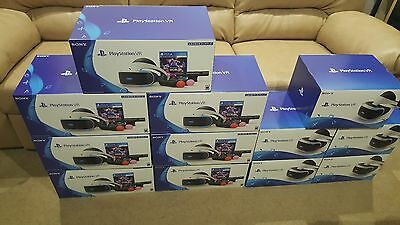 Sony PlayStation PS VR Launch Bundle ON HAND! Fast Ship! SOLD OUT EDITIONS! RARE