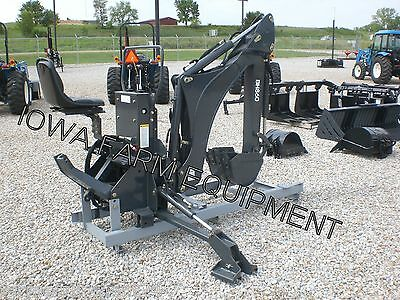 "'IFE' BH860 Curved Boom 3Pt Backhoe,16""  Bucket! EXCELLENT QUALITY&BEST BUY!"