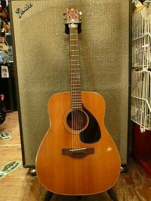 YAMAHA FG-180 Natural Free shipping Guiter Bass From JAPAN Right-Handed #T419