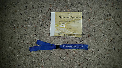 David Gilmour Live At Pompeii 7/7 Ticket+Wrist Band Pink Floyd Rattle That Lock