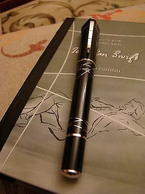 """MONTBLANC  LIMITED EDITION JONATHAN SWIFT """" Gulliver's Travels """" FOUNTAIN PEN"""