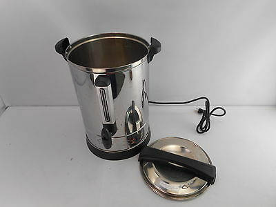 ProChef PU65 Professional Series 65 Cup Insulated Hot Water Urn Stainless Steel