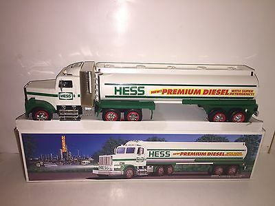 Rare Mint 1993 Hess Toy Premium Diesel Tanker Truck New in Box with Inserts
