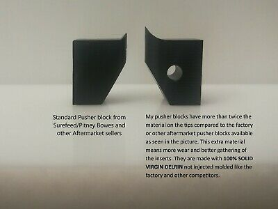 Pitney Bowes / Surefeed - 18007-015 Pusher Block, Direct OEM Replacement