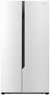 NEW Hisense HR6SBSFF566 566L Side by Side Fridge