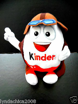 KINDERINO PLUSH AVIATOR Kinder Surprise Toy (7 INCHES)  *** VERY RARE***