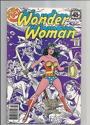 Wonder Woman #253 Vf-White Pages Rare Mark Jewelers  Bronze  Comic 1979 (A-1)