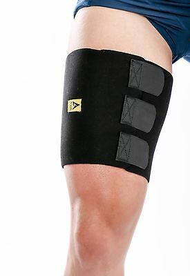 Thigh Compression Wrap Injury Support Groin Hamstring Quadricep Splint Leg Brace