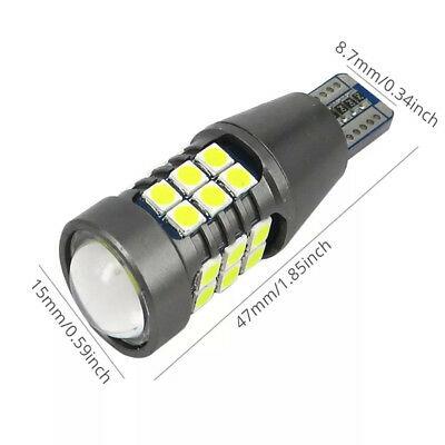 W16W POWERFUL LED CREE SMD WHITE  T15 SIDE LIGHT REVERSE 2x ERROR FREE CANBUS