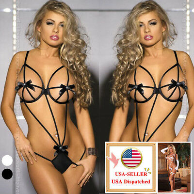 New Women's Lace Lingerie Nightwear Underwear G-string Babydoll Sleepwear Dress