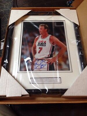 Larry Bird Autographed Dream Team Picture!Upper Deck Authenticated! Never Opened