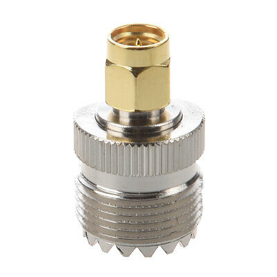 Hot Sale UHF SO-239 SO239 Female to SMA Male Plug Connector Coaxial Adapter B9