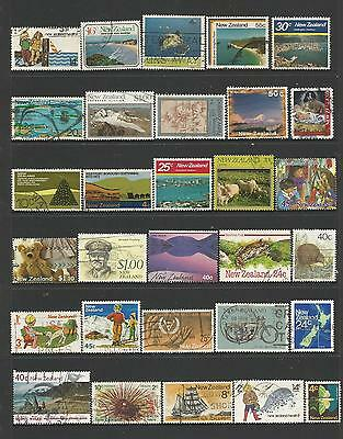 30 New Zealand Stamps used 8