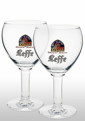 Leffe 33cl Imported Beer Glass New X 2