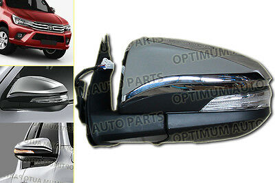 Toyota Hilux 2015 2016 2017 POWER / ELECTRIC Door Mirror LED Indicator LHS