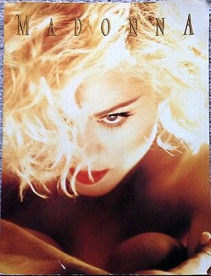 MADONNA 1990 Blond Ambition Tour Program - FREE SHIPPING for U.S. buyers