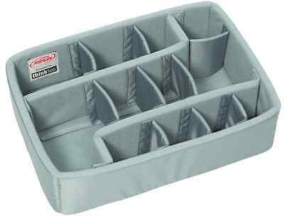 (NO CASE) Grey Dividers -  Grey Think Tank divider set to fit Pelican 1450.