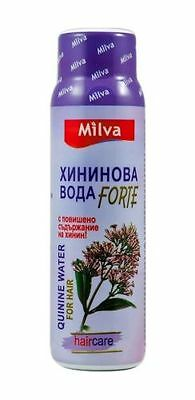 MILVA QUININE WATER with more Quinine Anti Hair Loss Very Effective 100ml FORTE