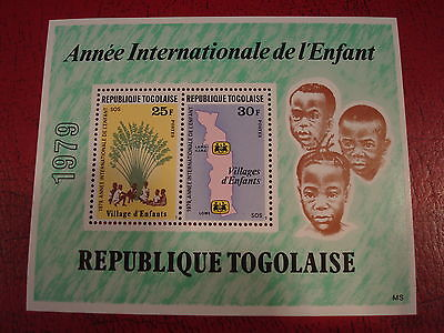 Togo - 1979 Year Of The Child - Minisheet - Unmounted Mint - Ex. Condition