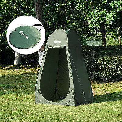 Outdoor Pop up Shower Tent Camping Beach Toilet Privacy Changing Room Fast Pitch
