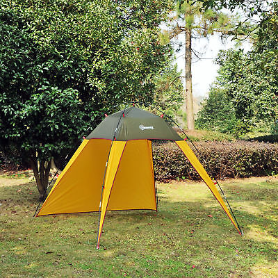 Outsunny Folding Pop Up Beach Tent Sun Shade Shelter Patio Camping Fast Pitch