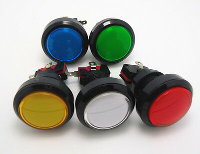 12 pcs of lighted button Illuminated round Push Button with microswitch