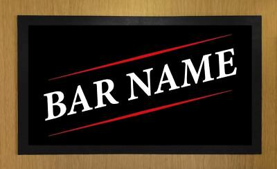 Personalised Lager Bar Runner Pub Club Cafe Cocktail Beer Mat #13