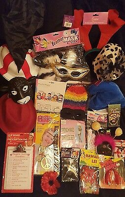 Wedding Photo Booth Props - Joblot Mixed New Props Hats Fun Party Bundle Masks +