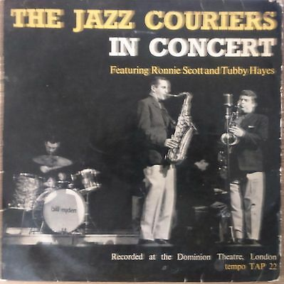 Jazz Couriers Ronnie Scott Tubby Hayes  In Concert Original UK Tempo LP TAP 22