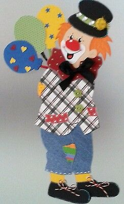 Fensterbild clown mit luftballons fasching karneval for Karneval dekoration